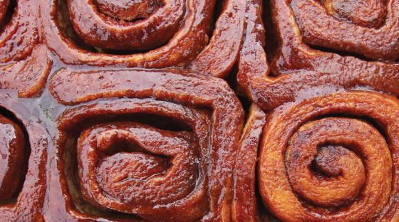 UBC cinnamon bun - Trek's top stories of 2018
