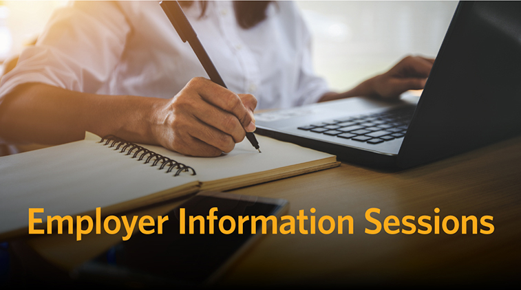 Employer Information Sessions