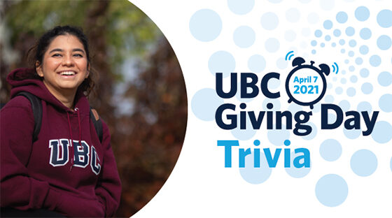 UBC Giving Day Trivia