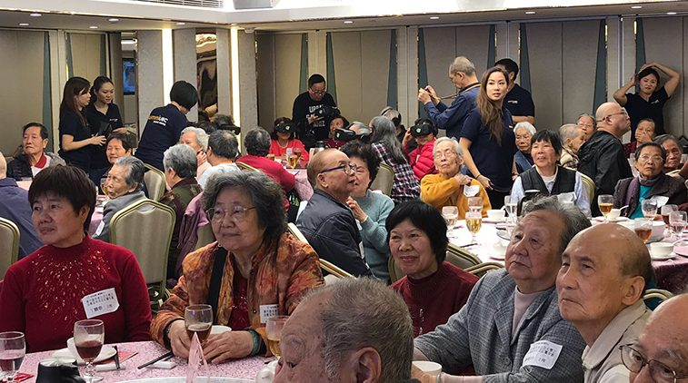 "We Care, Year of the Pig ""Get-Together Dinner"" for the Elderly Folks of Ngau Tau Kok"