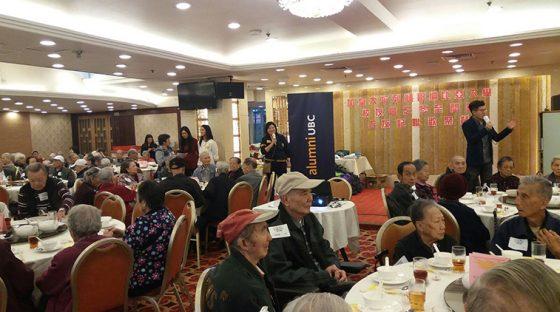Seniors Dinner in Hong Kong